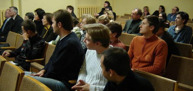 10.on.lt konferencija Mokslų akademijos bibliotekos salėje