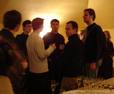 WWW architektai Andrius, trys Rimai ir Domas 10.on.lt sueigoje