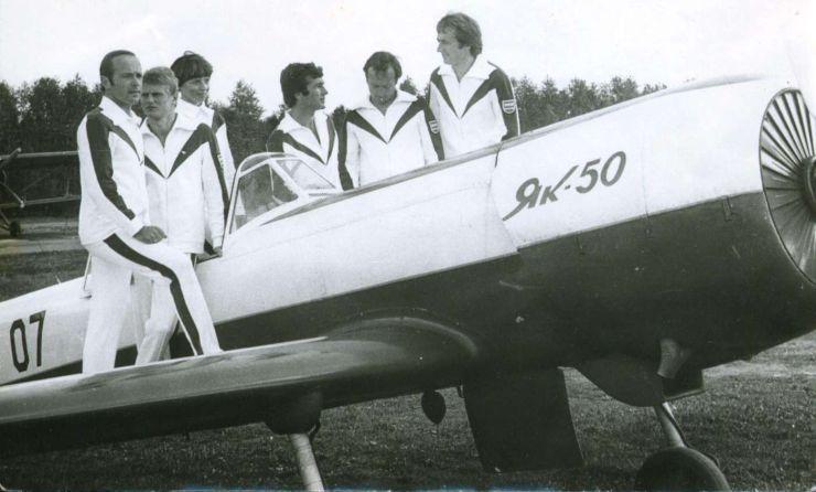 Lietuviai lakūnai - TSRS lėktuvų akrobatikos čempionai 1979 m.