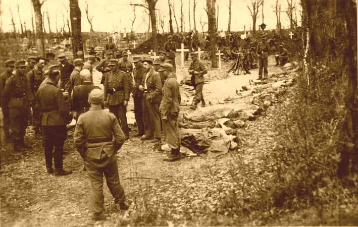 """Lenkų """"Armija krajova"""" banditų nužudyti lietuviai"""