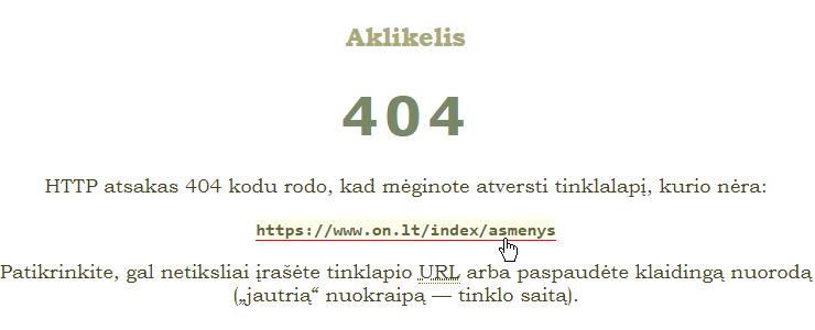 HTTP error 404 — URL not found