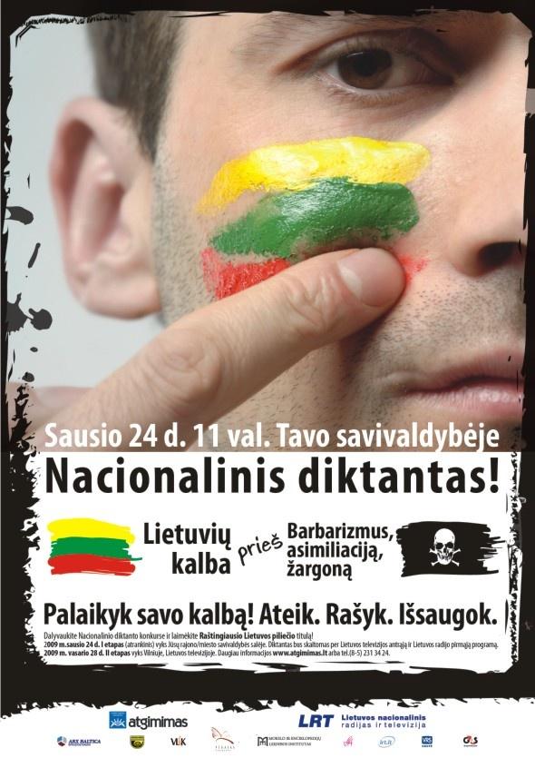 VLKK diktanto plakatas